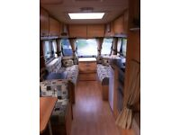 Sterling Europa 600 2008, 6 Berth Touring Caravan, Twin Axle, Excellent Condition, Reluctant Sale