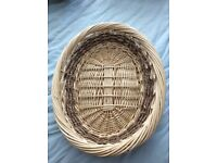 Selection wicker baskets ( exc condition & various prices)