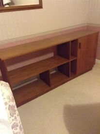 Teak bookcase/sideboard