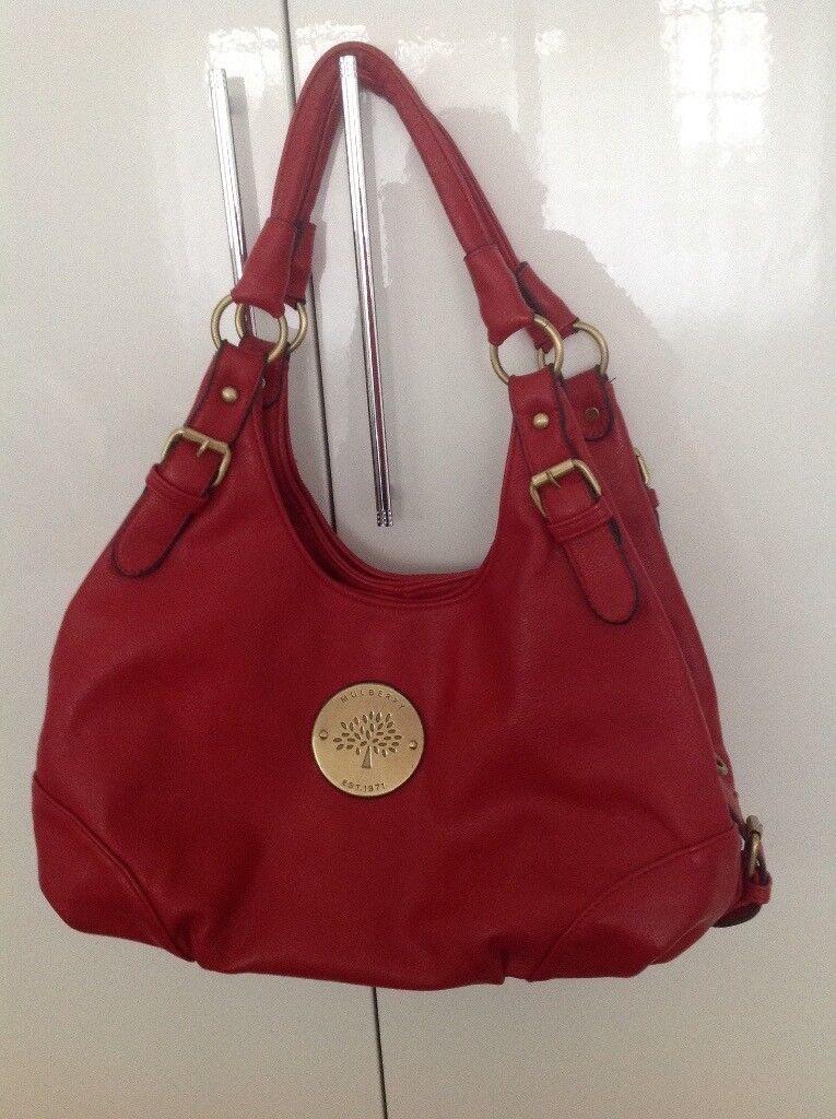 0e312961dc ... where to buy large red mulberry handbag 4bc9a 92e81