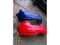 Ford Focus st/rs rear bumper £30 2008-2009-2010-2011-2012-2013-2014-2015-2016
