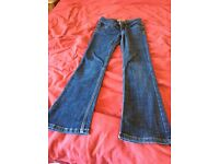 Ladies size 8 skinny flare jeans collect from Sprowston or meet at Riverside