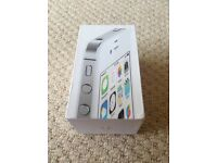 Apple iPhone 4s white 8gb & vodaphone SIM card boxed