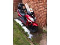 Sym joyride Evo 125cc £550 if gone today!!! Funds needed