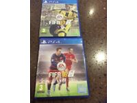 Fifa 16 & 17 for PS4