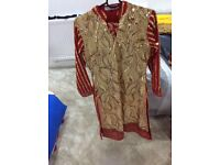 Women's wedding party Asian dress size 8-12