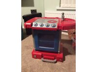 Kitchen red and blue only 7£