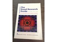 The Good Research Guide: For Small-scale Social Research Projects
