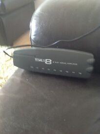SLx8 8 way Aerial Amplifier