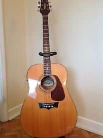 Acoustic Guitar Peavey Indianola AE 6 String