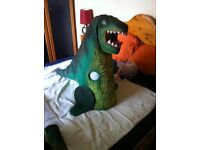Raptor – Dinosaur Halloween Costume for 5-6 Year Old.