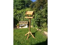 Hand Crafted Bird Table