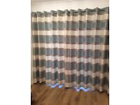 Pair of 90 x90 curtains and one set 60x90 will sell separately.