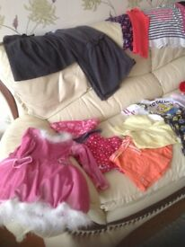 Girls clothes age 5-6