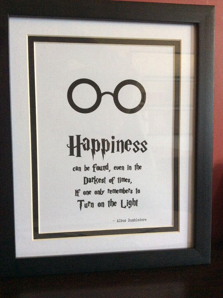 Handmade Harry Potter Frame. New with mount. | in Kilmarnock, East ...