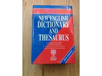 ** Reduced Price ** Large New English Dictionary & Thesaurus by Geddes & Grosset R.R.P. £19.95