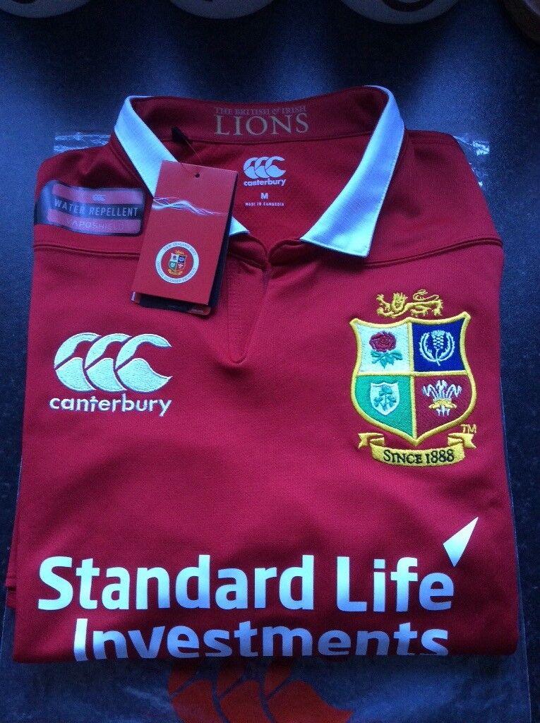 3614dc742f4 New British & Irish Lions Rugby Shirt - Medium - Only £20 | in Belfast ...