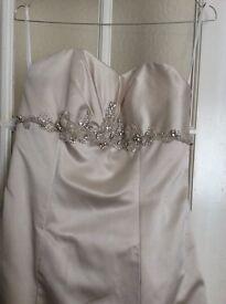 Beautiful White Rose wedding dress size 14