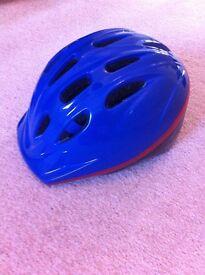 Blue kids bicycle helmet 4, 5, 6 years