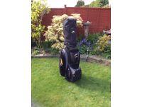 Powakaddy Golf Bag & SlazengerTrolley Cover