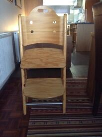 Child Height Ajustable Chair