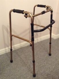 HOUSE CLEARANCE. Two Walking Frames, Excellent Condition. One is Wheeled and One is Foldable.