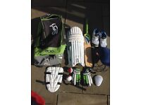 Youth cricket gear