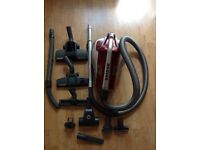 Hoover Turbo Power Bagless Pets Cylinder (£250 new) Long Stretch Hose for Stairs (Hardly been used)