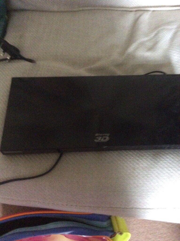 Samsung blueray 3d model bde6100