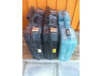 Dewalt and Makita Tool Boxes - Used