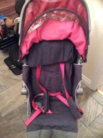 Pink McClaren Push Chair