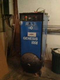 Abac Genesis 1008 Rotary screw Air Compressor