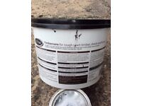 Dark brown fence or shed paint 7.5litres