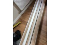 Mdf Lambs Tongue Skirting. Primed. 24 pieces.3060 L
