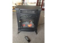 Traditional Electric Woodburner/Stove style with Remote control