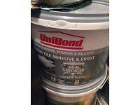 Unibond floor tile adhesive 6 tubs