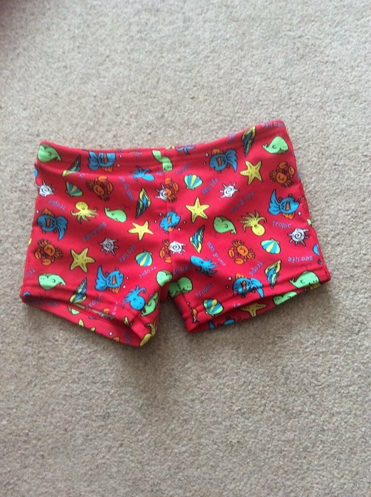 Swimming shorts size 12-18 months