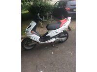 /Peugeot Speedfight II 100cc, fast moped