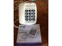 Big button BT 200 telephone as new