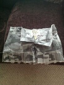 ROXY RA RA MINI SKIRT SIZE 10