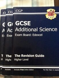GCSE Edexcel Additional Science revision guides