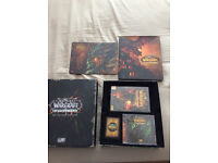 World of Warcraft with expansions, Cataclysm Collectors Edition and strategy guide
