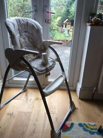 Baby high chair, very sturdy and easy to clean - mothercare