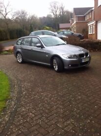 BMW 3 Series 2.0 318d SE Touring 5dr Half Leather