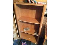 solid wood storage shelf/book shelf unit