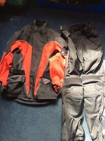 Ladies Richa Motorbike Jacket and Trousers