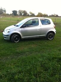 Silver Toyota Yaris - Good Condition. Must Be Seen.