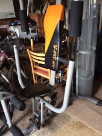 V -FIT -ST compact upright multi gym