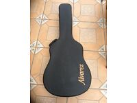 Alvarez RD8 acoustic guitar in hard shell case as new mint condition