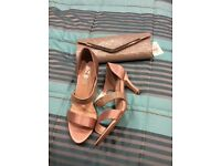 Shoes and matching bag BNWT